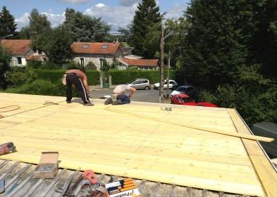 DB Créa rénovation pose de toiture en zinc Rambouillet