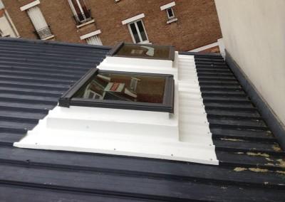Pose de velux sur toit en zinc Rambouillet DB Créa