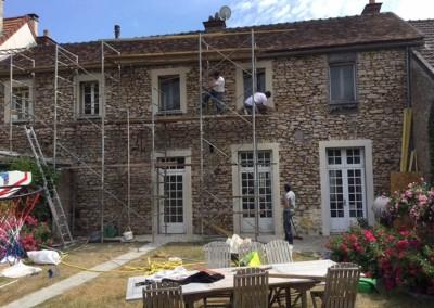 Entreprise de ravalement de façade Rambouillet 78 DB Créa