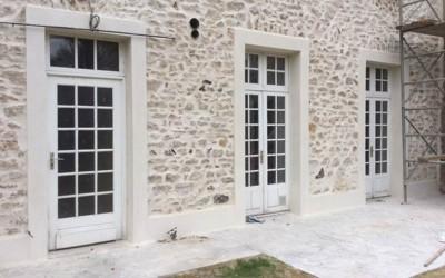 Ravalement de façade, Rambouillet