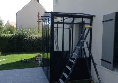Verrière fer forgé - DB Créa à Rambouillet