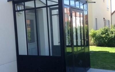 Création de verrière menuiserie Alu Bois PVC Rambouillet