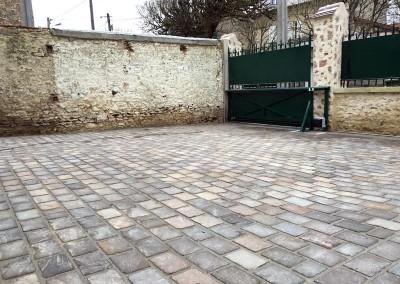 Pavage, dallage Rambouillet allée en pierres naturelles DB Créa