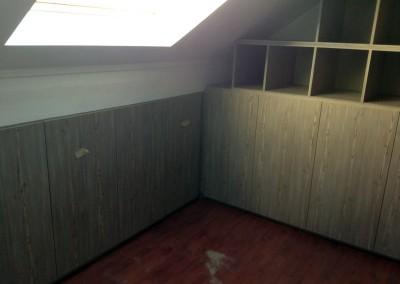 Aménagement de placards dans des combles Rambouillet 78