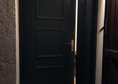 Porte d'entree vitre et alu DB Créa 78 Rambouillet