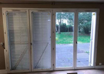 Rénovation pose porte fenêtre baie vitrée Yvelines Rambouillet