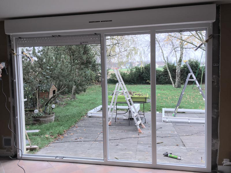 Porte fenetre de renovation for Porte fenetre renovation pvc