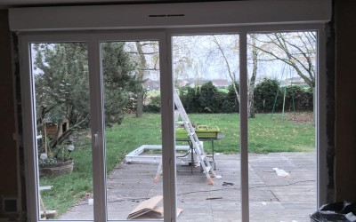 DB Créa Menuiseries – Porte fenêtre Yvelines Rambouillet (78)