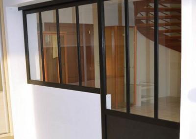 Verrière intérieure type loft Yvelines 78